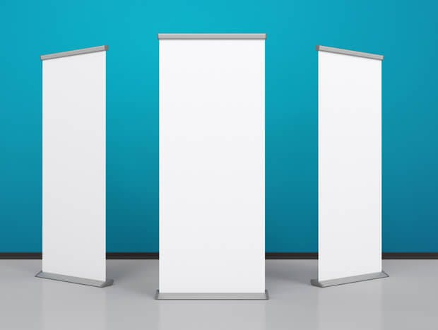 Roller banners that can be recycled as part of a sustainable marketing strategy