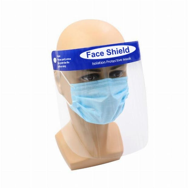 When social distancing isn't possible, face shields are a vital part of PPE